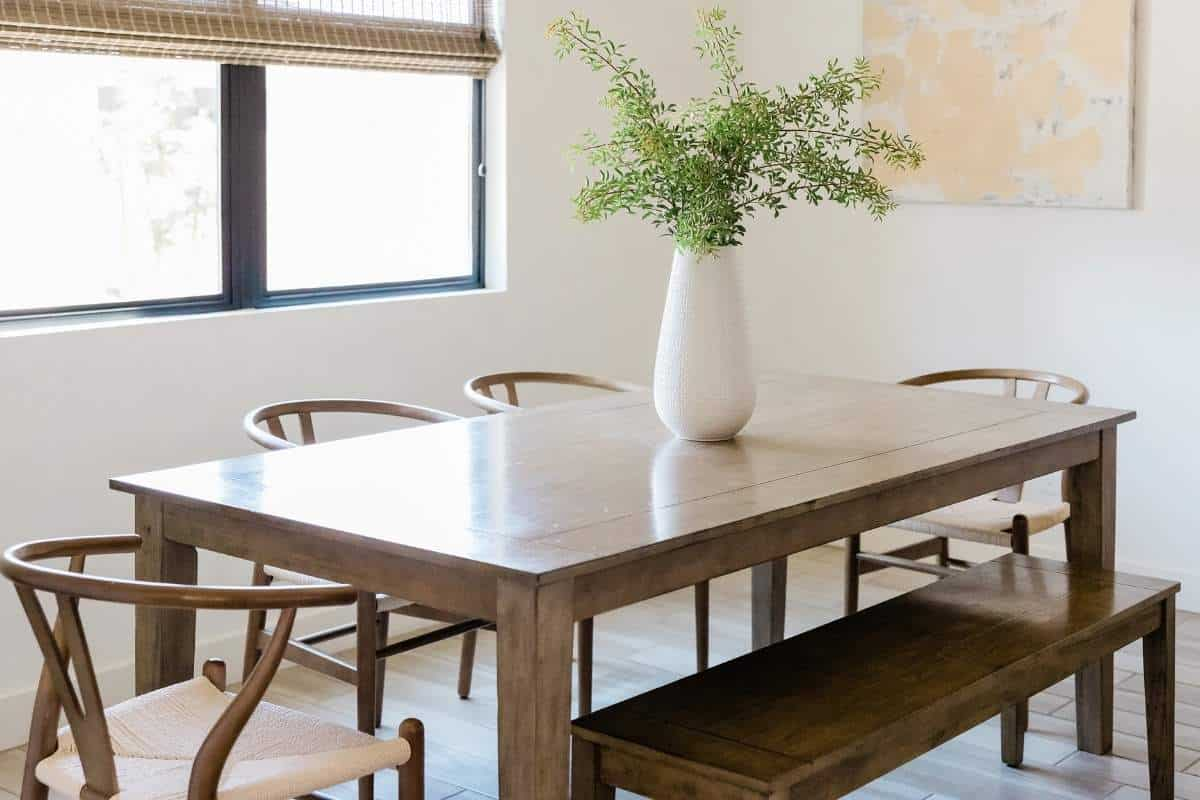 dining room table frugal
