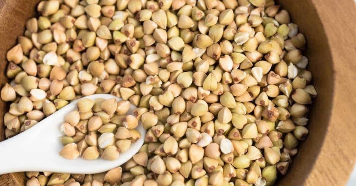bin of whole grains