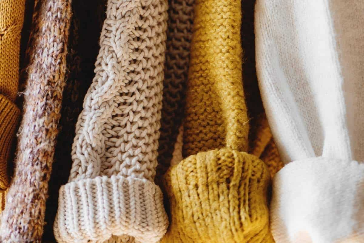 four sustainable fashion sweaters